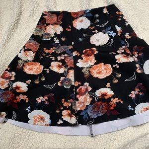 A&F flower skirt